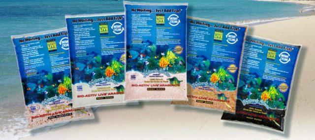 Морской песок для аквариума