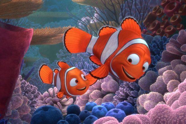 Рыбы клоуны Немо и Мартин