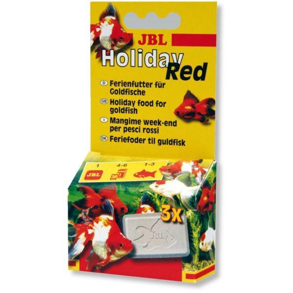 Корм для золотых рыбок jbl holiday red
