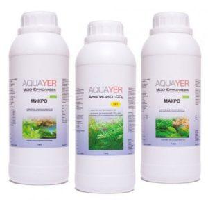 Aquayer удобрения для аквариумных растений