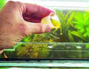 Жидкие аквариумные удобрения